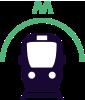 Metro naar Scheveningen strand
