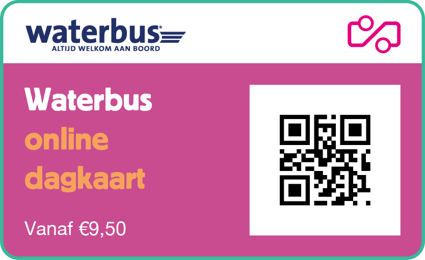 Waterbus day ticket